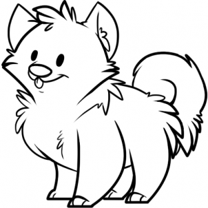 Drawn puppy puppie Drawing com atrinrayaneh Puppy Drawing