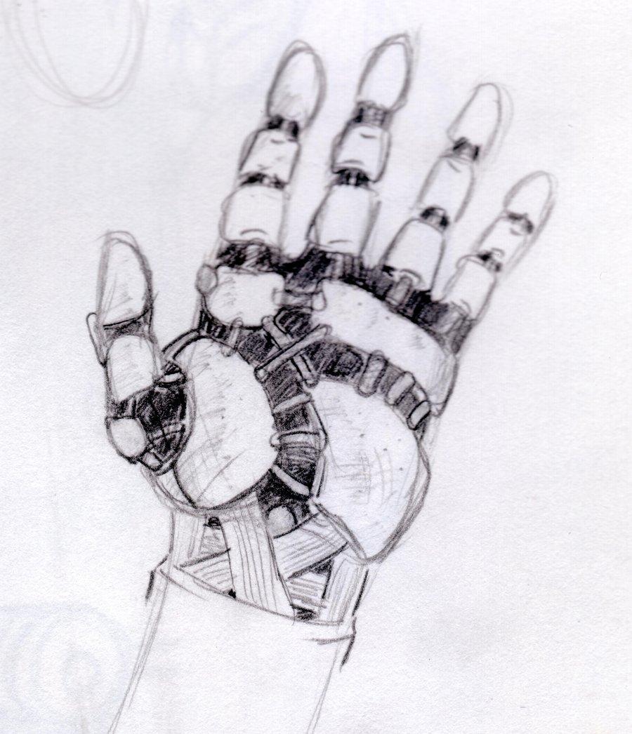 Drawn amd robot Art hand Google drawing drawing