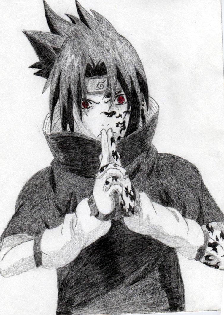 Drawn amd sasuke uchiha Sasuke saringan goLONGo by by