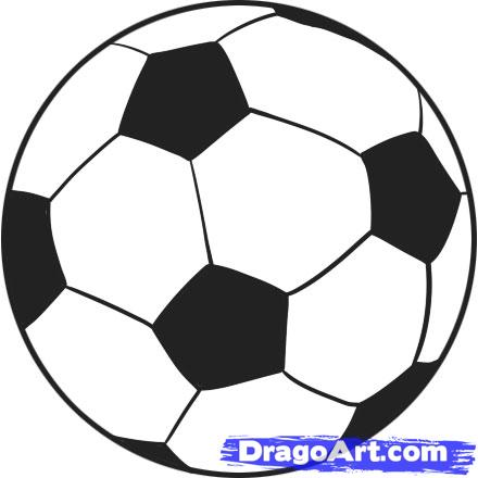 Drawn football white background To step Balls balls 6