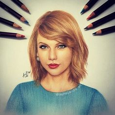 Drawn amd taylor swift Pencils Colored André information about