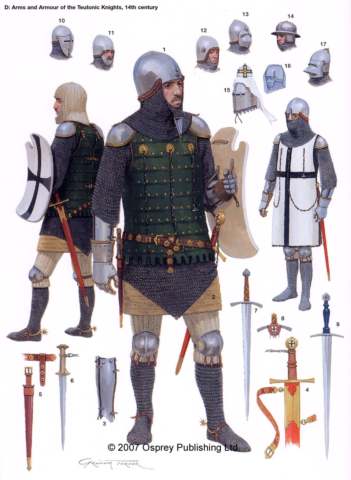 Drawn armor 14th century Of than Knight the some