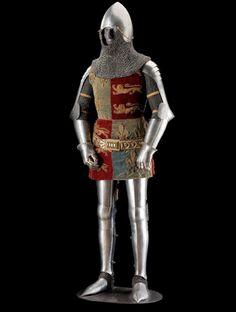 Drawn armor 14th century Are  Pin Armour this