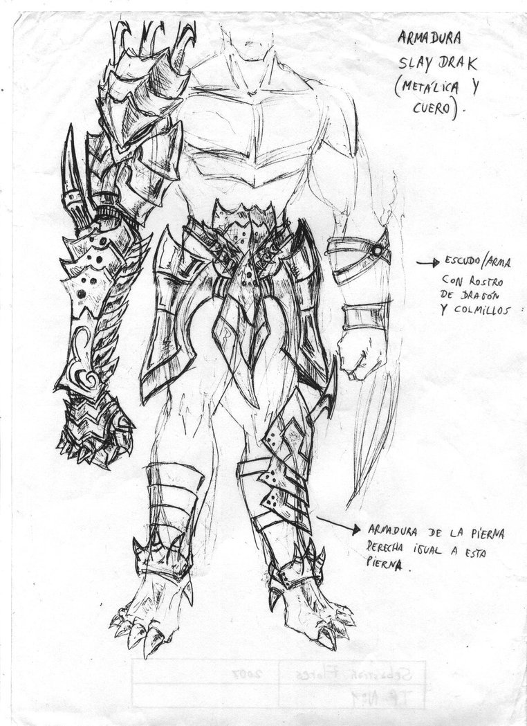 Drawn armor How Anime To ALL Sketches