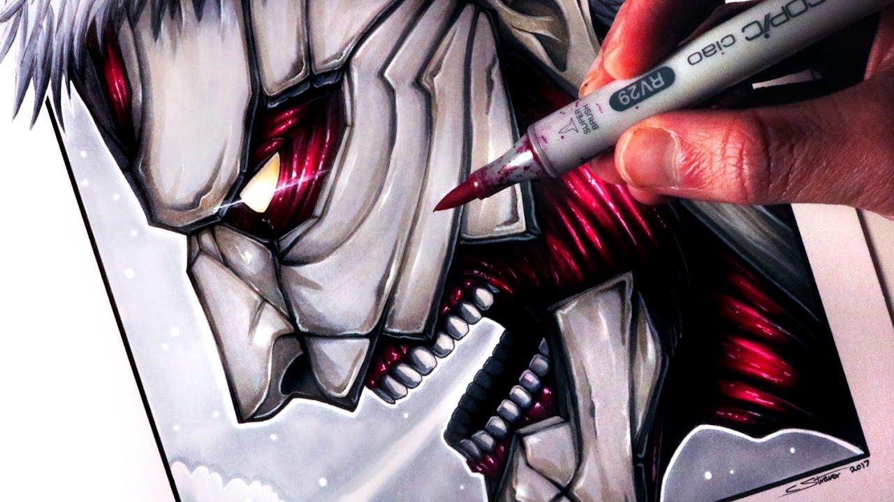 Drawn amour attack on titan #14