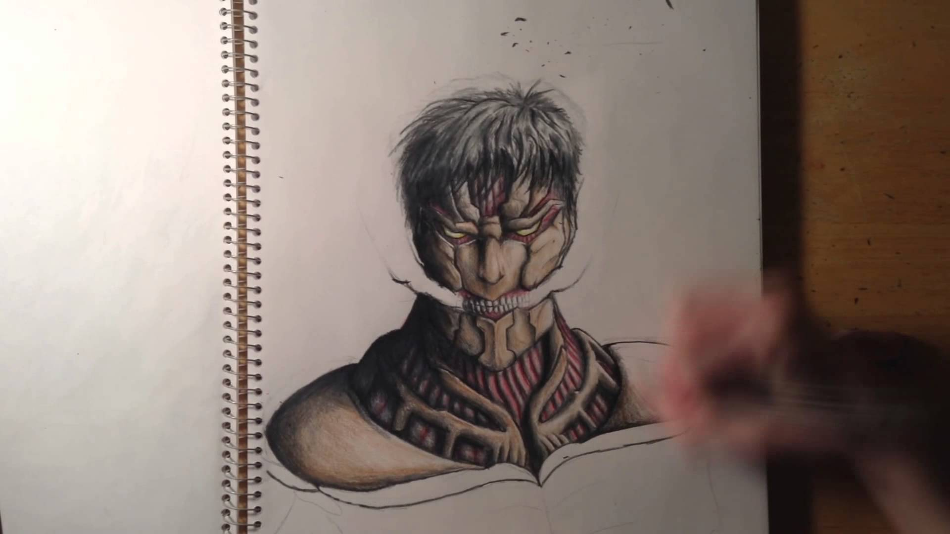 Drawn amour attack on titan Titan YouTube  Drawing Armored