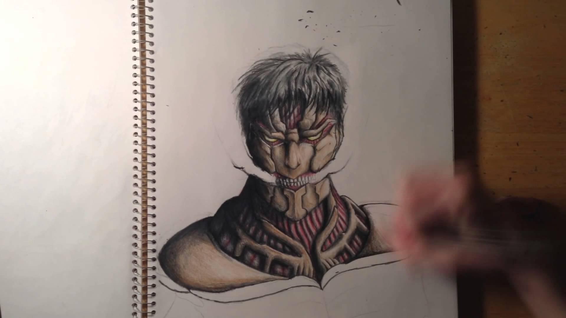 Drawn amour attack on titan #1