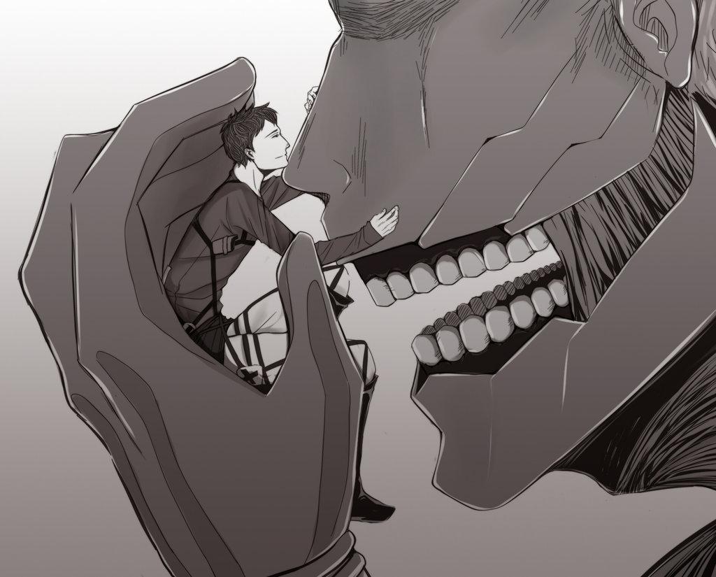 Drawn amour attack on titan #11