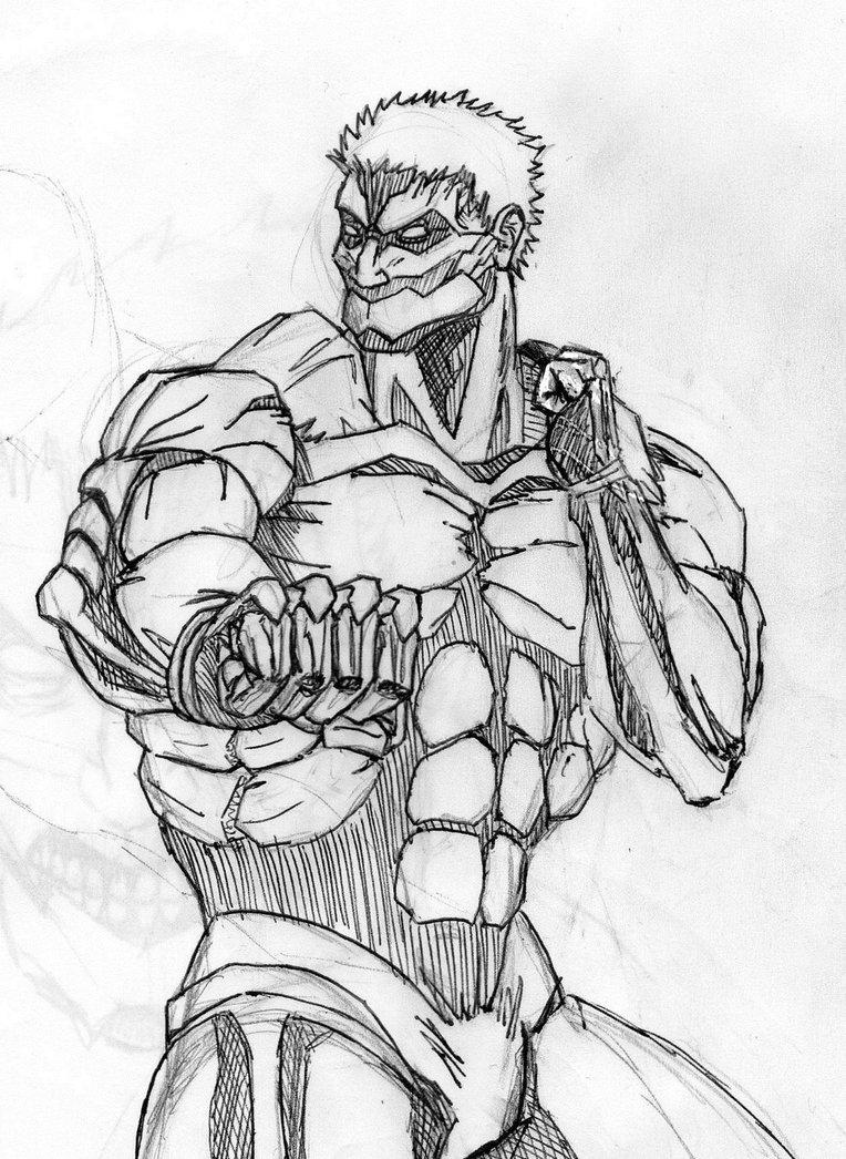 Drawn amour attack on titan #3
