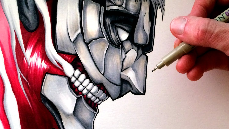 Drawn amour attack on titan #10