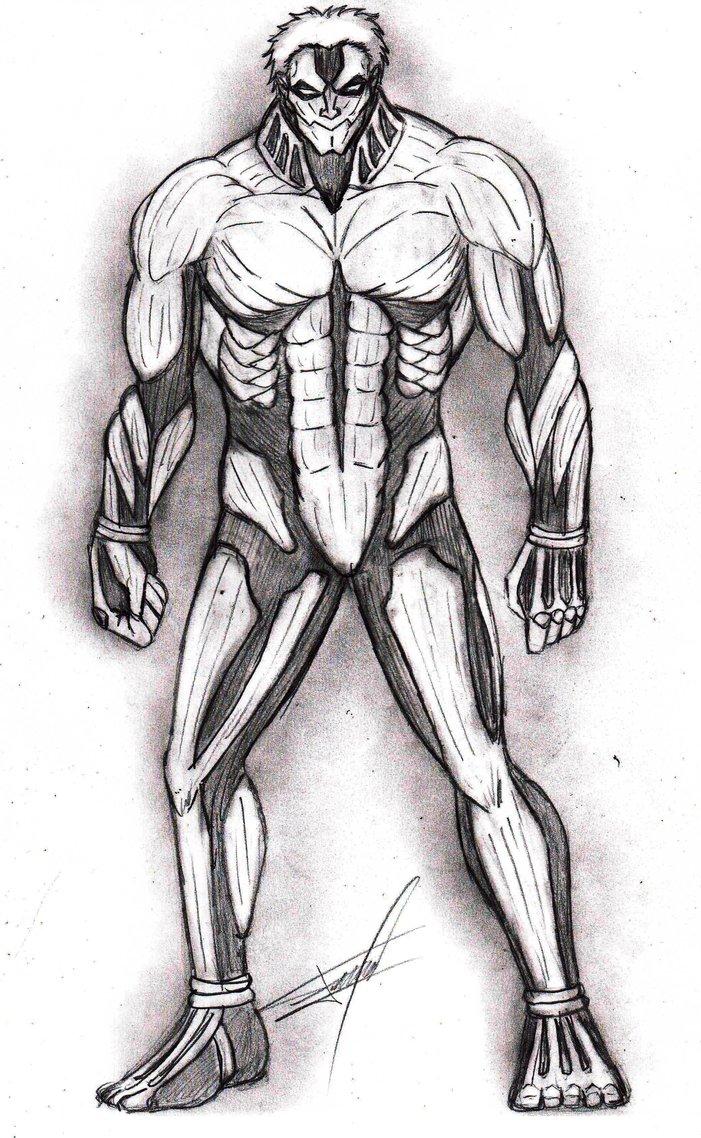 Drawn amour attack on titan #4
