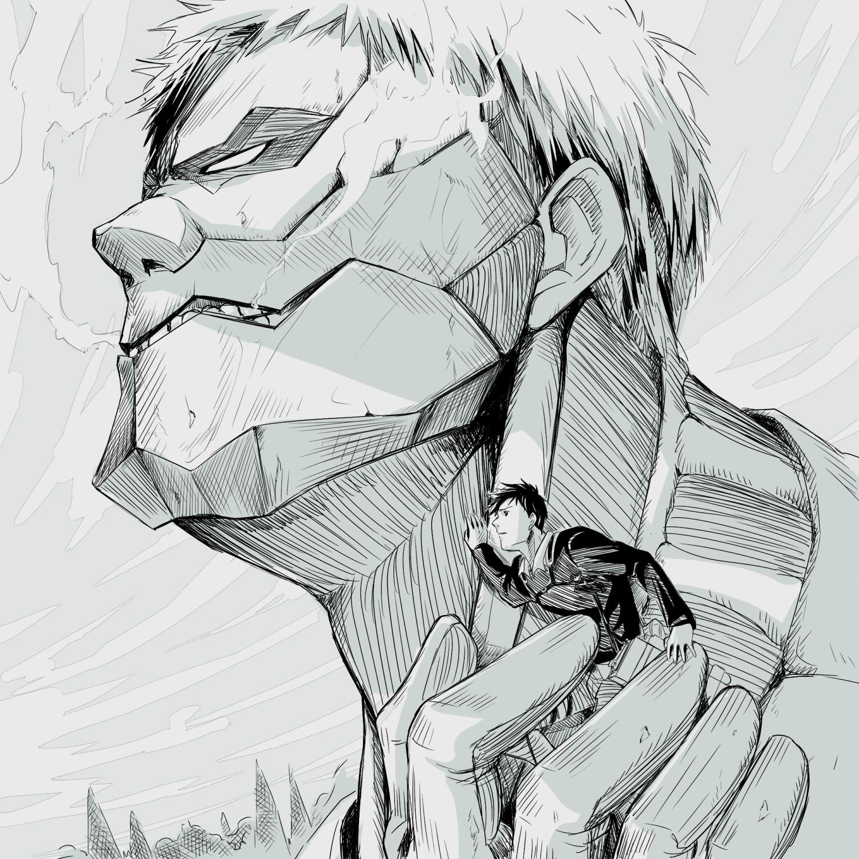 Drawn amour attack on titan #7