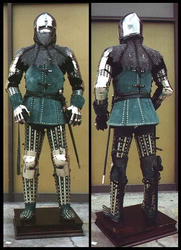 Drawn armor 14th century Armour Armour Century (Brigandine (Brigandine