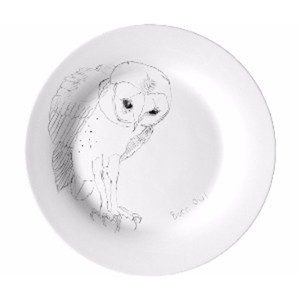 Drawn amour chinese plate #14