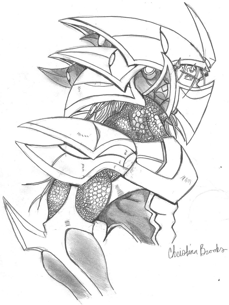 Drawn amour dragon In Cool images Pencil Drawings