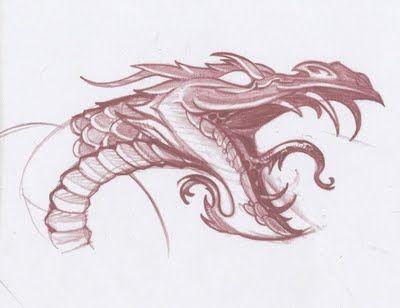 Drawn amour dragon head On head; he's like got