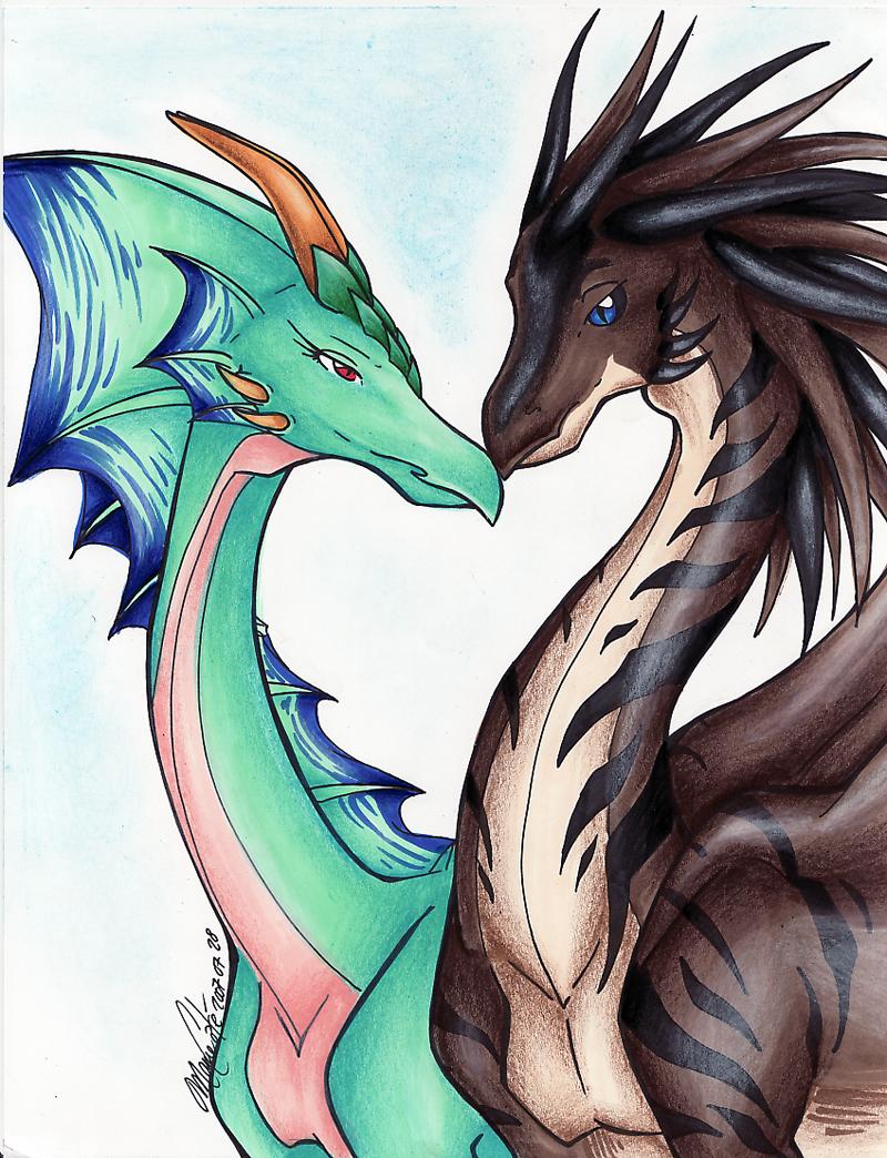 Drawn amour dragon head Dragons Amour Amour ManueC DeviantArt