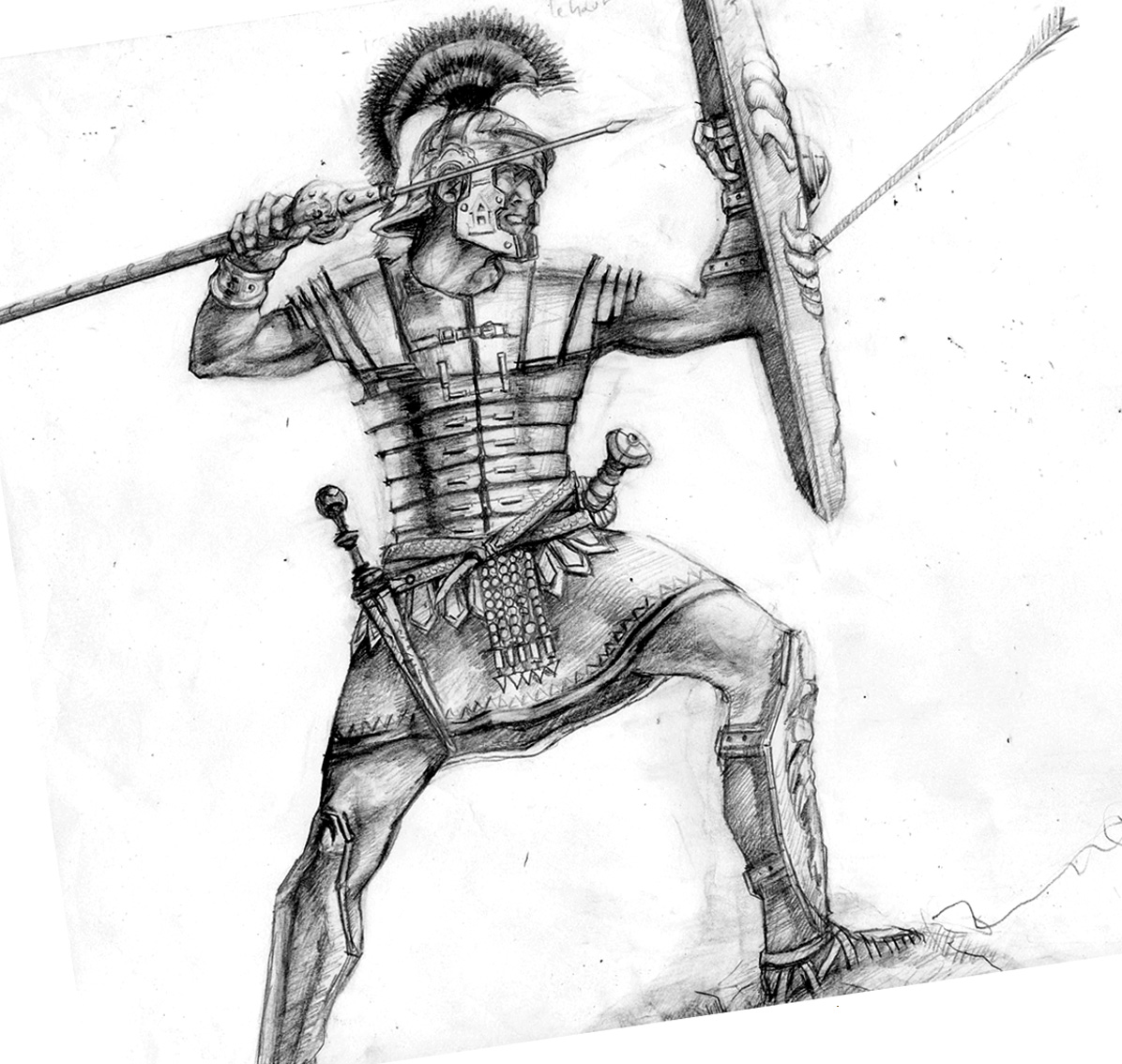 Drawn katana rome #6