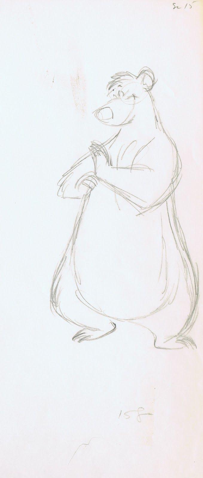 Drawn amour jungle Balloo Disney all Pinterest Jungle