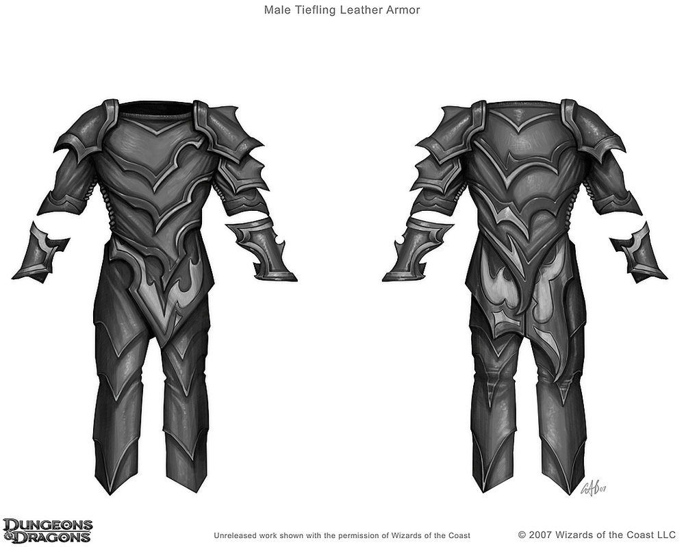 Drawn amour leather Leather by on Armor/drawing DeviantArt