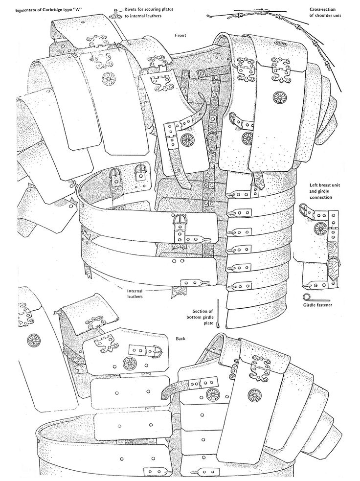 Drawn amour leather Armor Best Pinterest armor Roman
