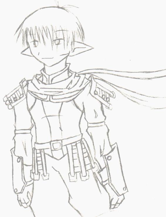 Drawn amour leather DeviantArt drawn leather armor drawn