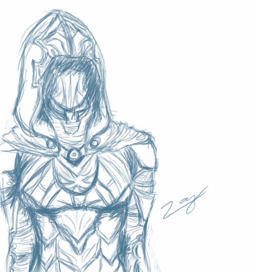 Drawn amour nightingale DeviantArt on by Armor Nightingale