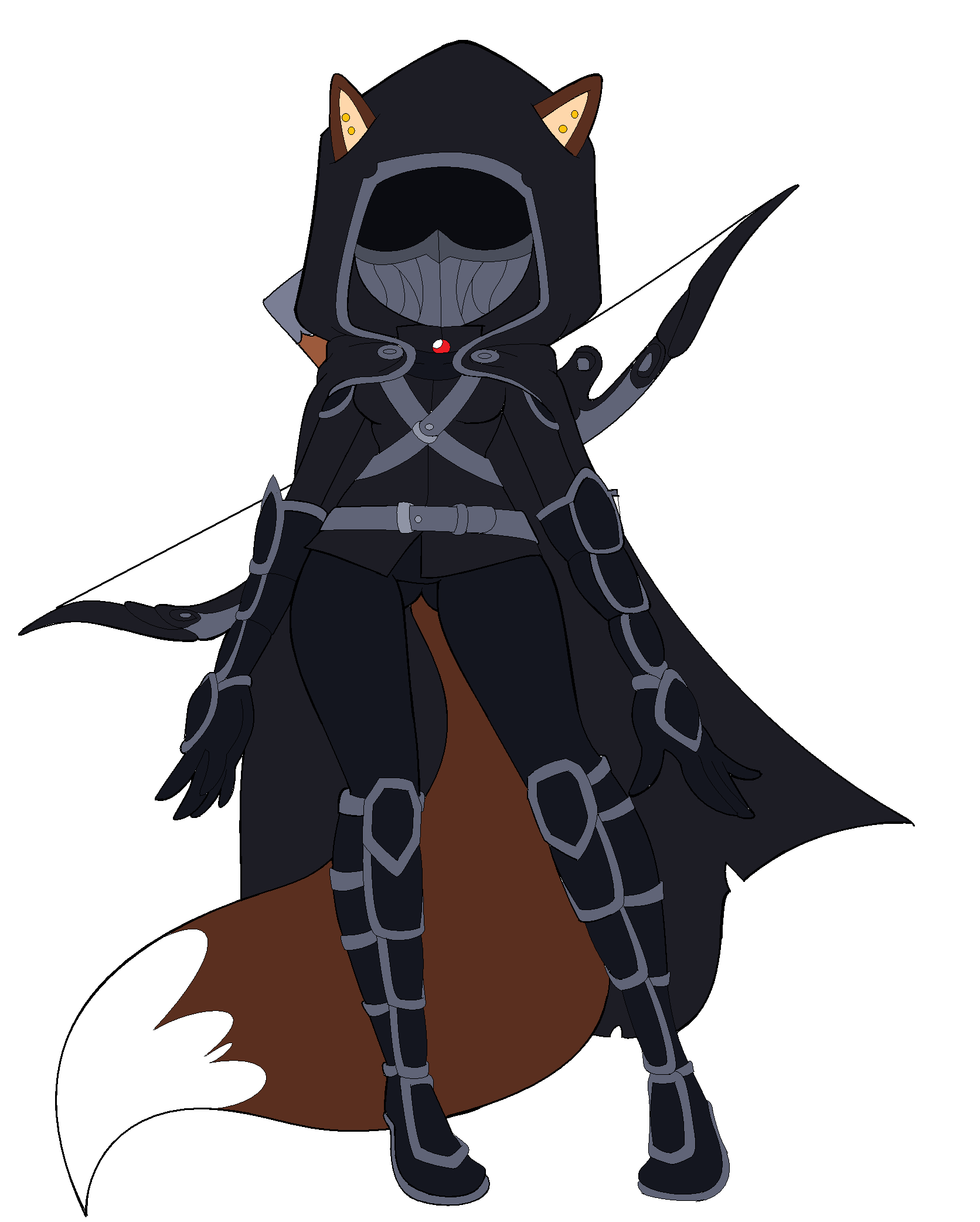Drawn amour nightingale On Daddy SWAG SWAG armor