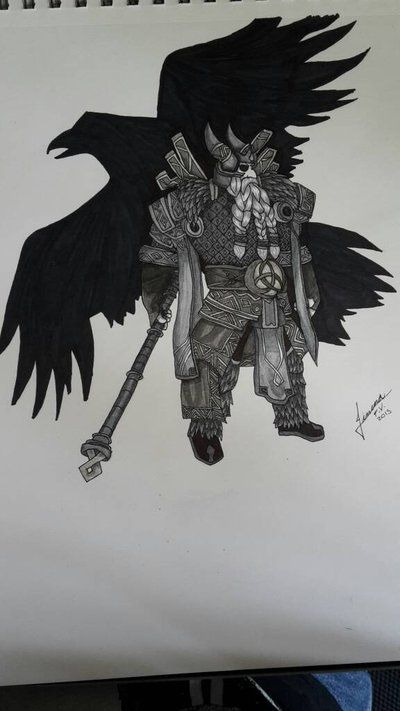 Drawn amour odin Warrior Pinterest on best about