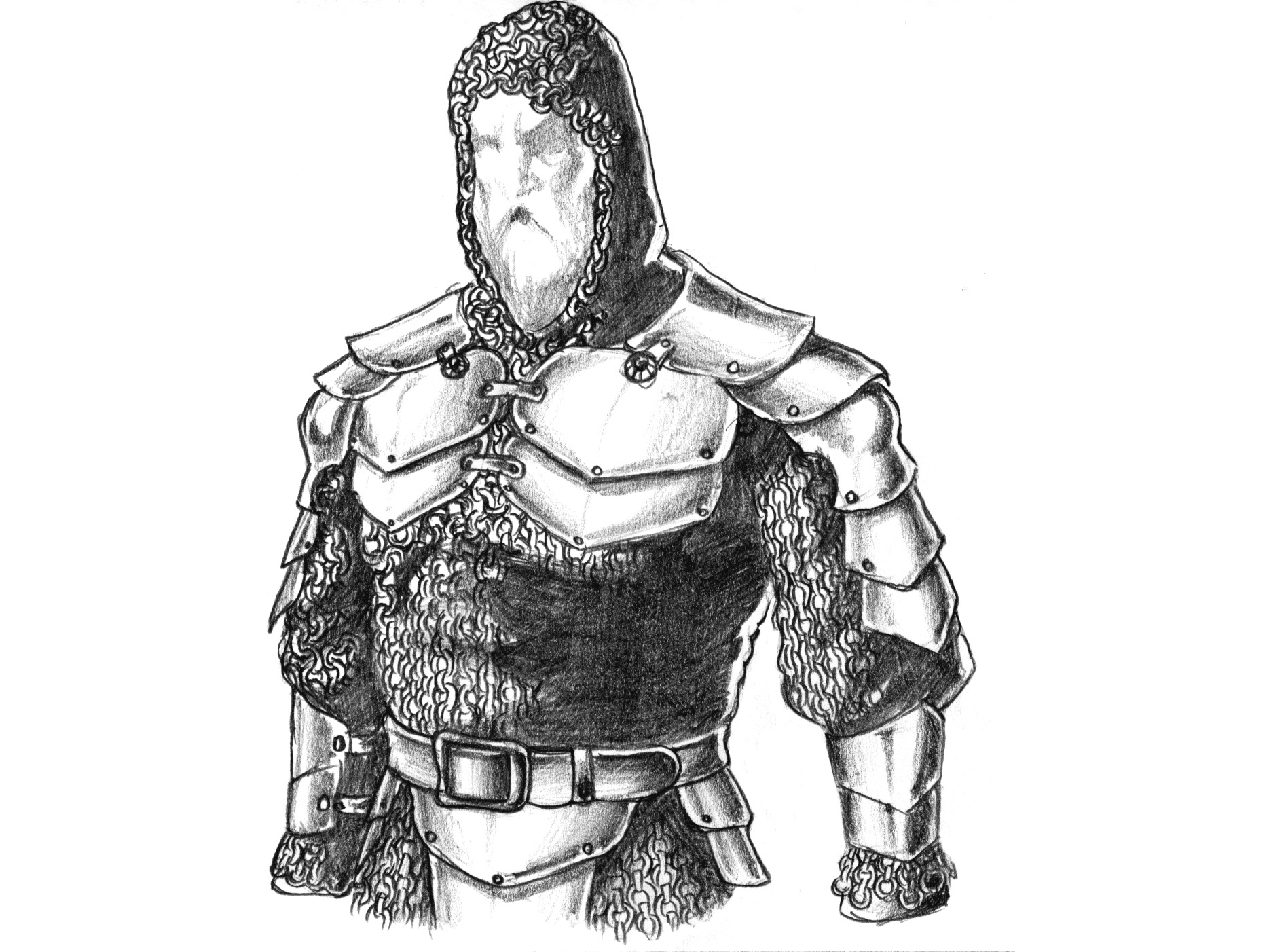 Drawn armor brigandine To to would Mun full