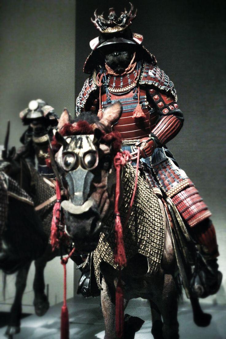 Drawn amour samurai armor #13