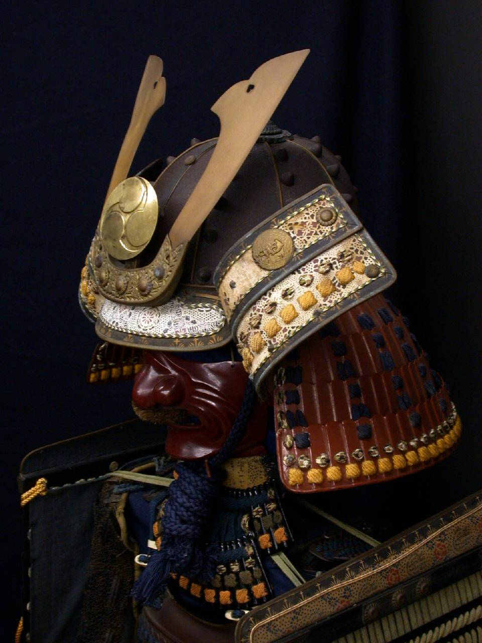 Drawn amour samurai armor #8