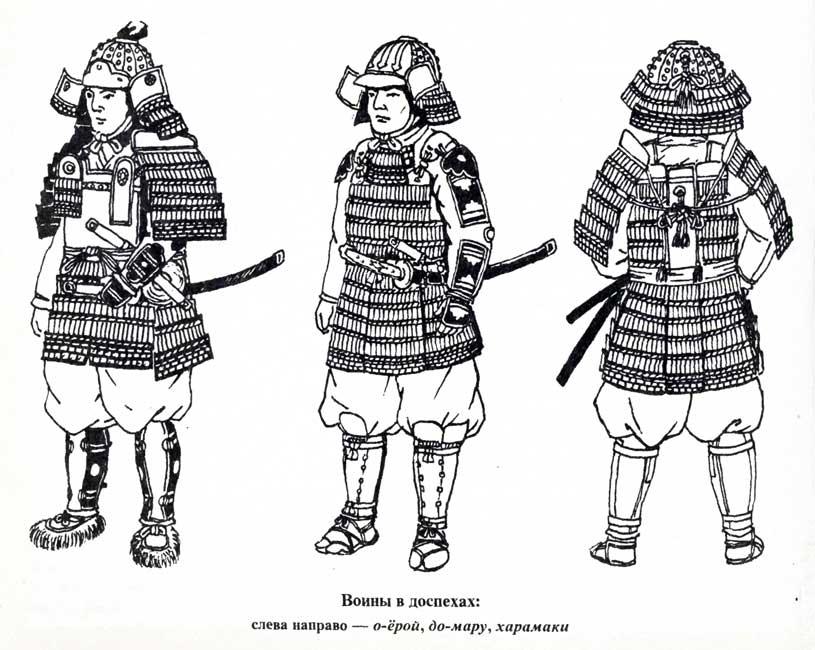 Drawn amour samurai armor #10