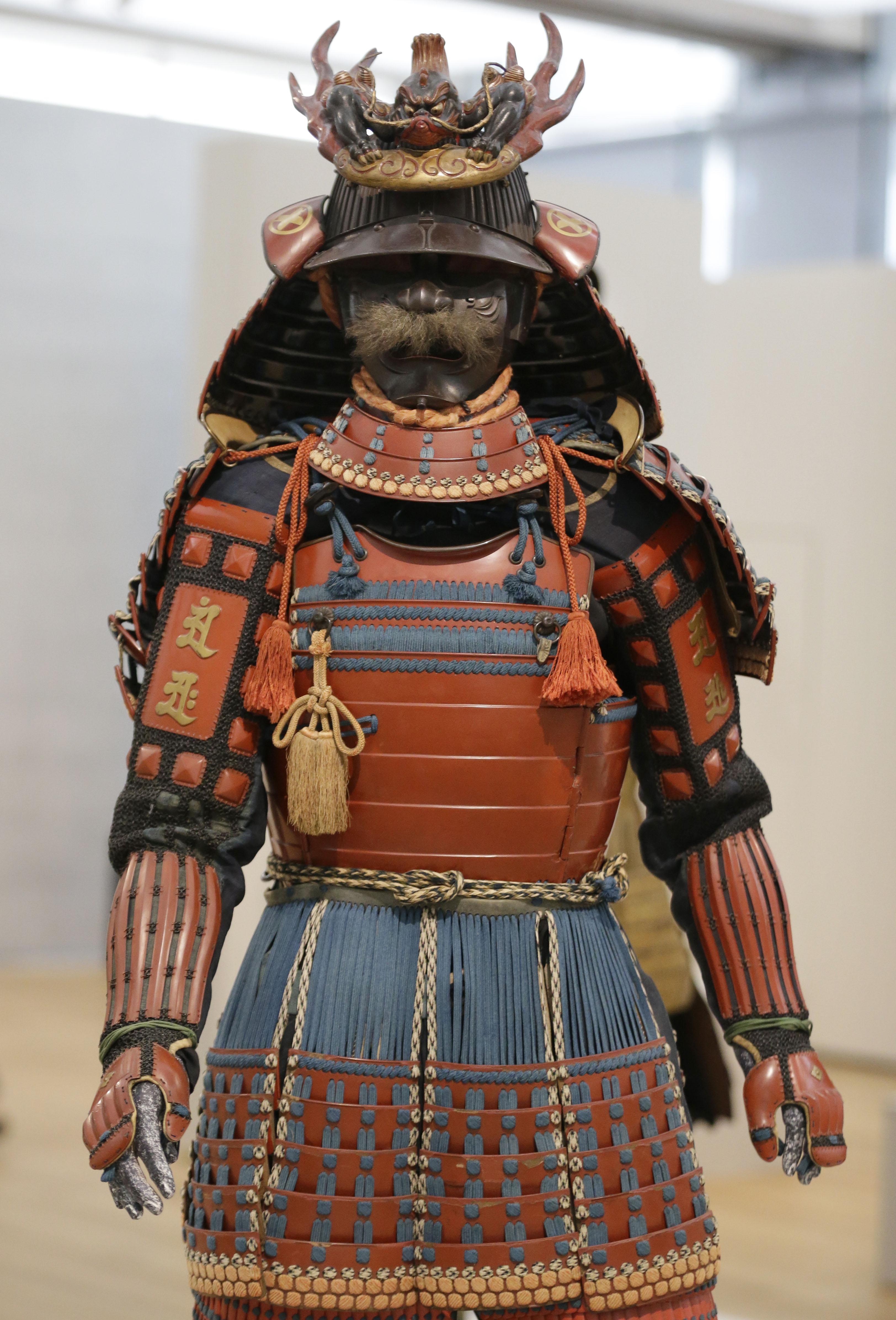 Drawn amour samurai armor #3