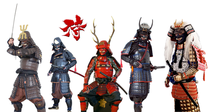 Drawn amour samurai armor #5