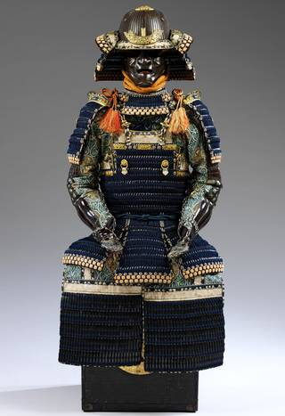 Drawn amour samurai armor #11