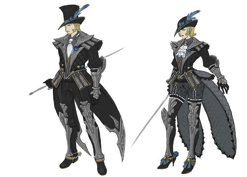 Drawn armor white knight #5