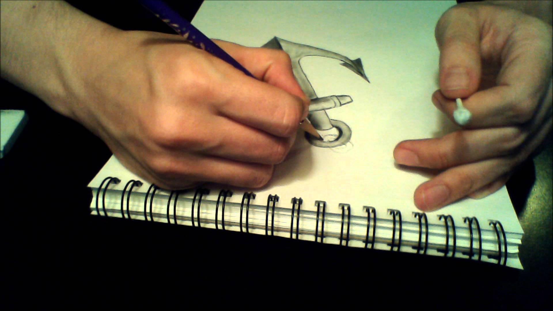 Drawn anchor Anchor Drawing Chain & Chain