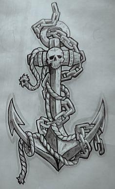Drawn anchor ancor A new Designs I was