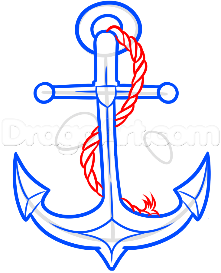 Drawn anchor ancor Culture  6 Tattoo Drawing