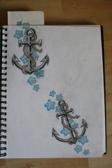 Drawn anchor ancor Cover 600 best TattoosTattoos UpDrawingsAnchor