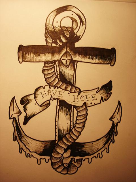 Drawn anchor favim Inspiring design Favim art design
