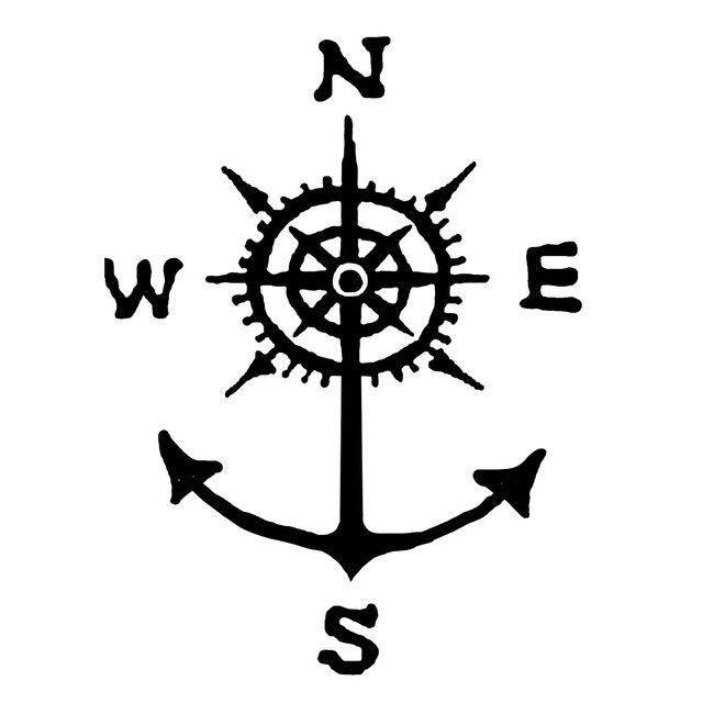 Drawn anchor large Compass with all 25+ whose