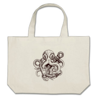 Drawn anchor large Anchor Zazzle Holding Bags Tattoos