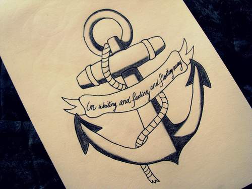 Drawn anchor love quote Tattoo · QuotesDrawing Google drawings