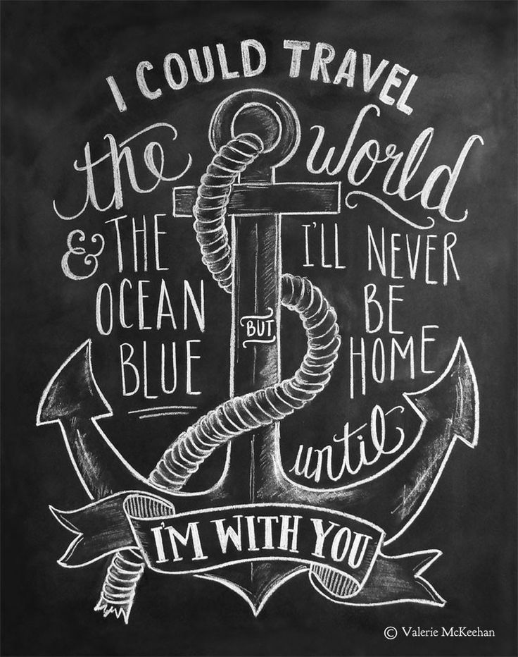 Drawn anchor love quote Best Theme quotes World Pinterest