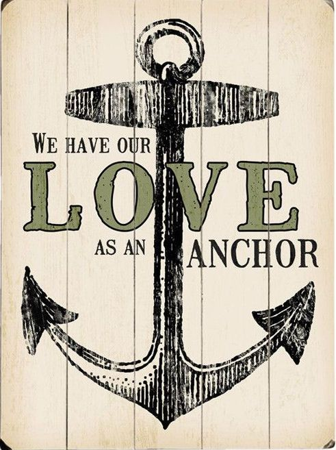 Drawn anchor love quote #quote Anchor Best As quote