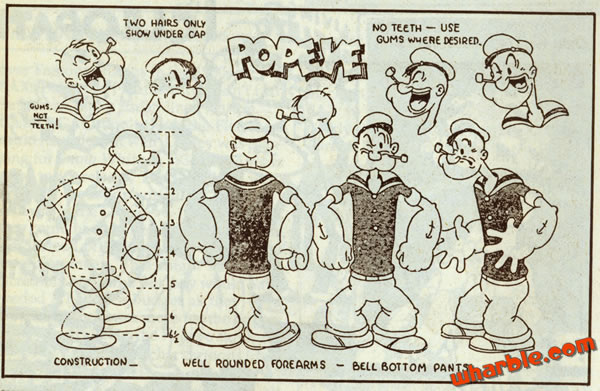 Drawn anchor popeye To  Popeye How How