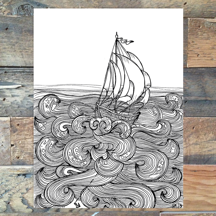 Drawn anchor printable Hope available Other 11