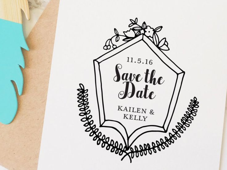 Drawn anchor save the date On the Date Pinterest Hand